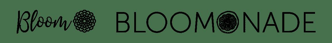 Bloom and Bloomonade logos