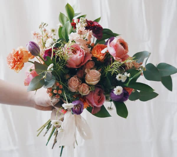A Mother's Day bouquet of locally grown flowers from Bloom Sacramento.