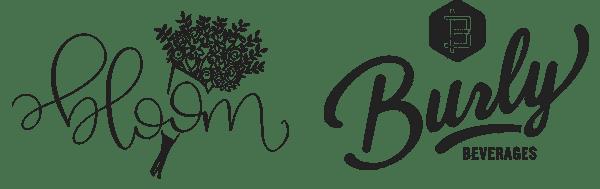 Bloom and Creamy's by Cayla Jordan logos