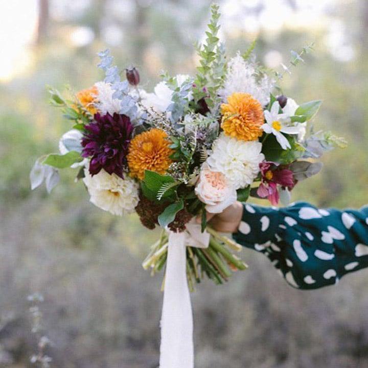 Bridal bouquet arranged by Bloom Sacramento